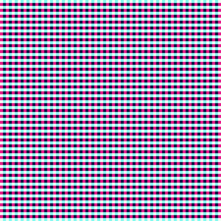 Blue And Pink Tablecloth Gingham seamless vector Pattern. Blue and pink plaid background pattern Stock Illustratie