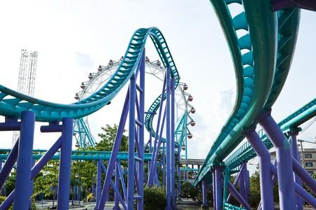 Roller coaster 02 photo