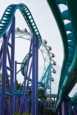 Roller coaster 01 photo