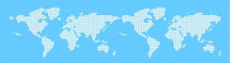 bitmap: world map, Bitmap