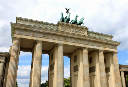 Brandenburg Gate in Berlin photo