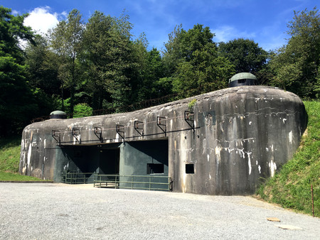 Ammunition entrance, Block 7 in Ouvrage Schoenenbourg, Maginot line