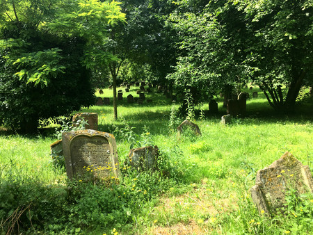 rhyme: Historical Jewish Cemetery in Worms