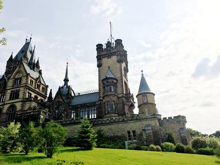 the Marvellous view of Schloss Drachenburg near Rhein