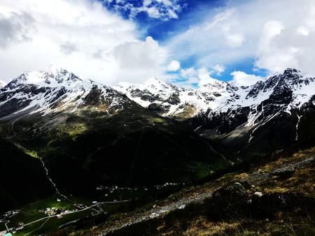 Hintere Sch o ntaufspitze in solda sulden Alps Italy