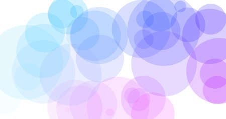 Colorful background in circles, perfect for slides creation