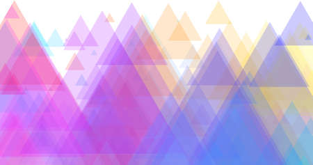 Colorful background in triangle, perfect for slides creation