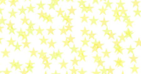 Repeated Five-pointed stars pattern as a perfect backgrounds