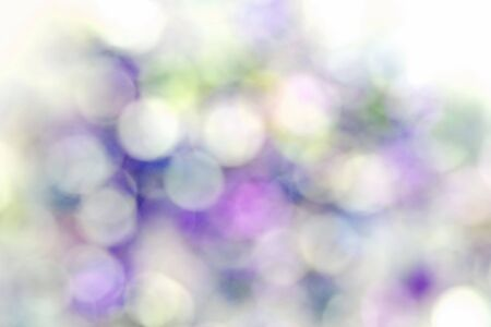 blur colorful bokeh abstract on white background