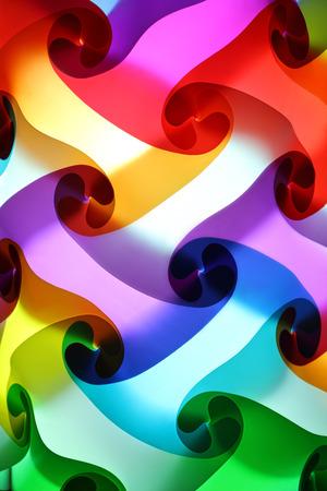 colorful lantern: closeup pattern of colorful lantern
