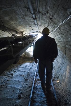 Miner, sulfur mine Reklamní fotografie - 23068027