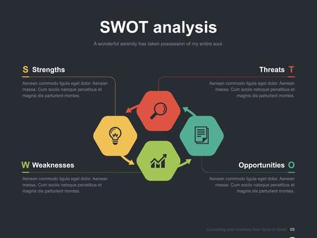 Business-Vektor-Infografik Dia-Vorlage 0002 Standard-Bild - 50902703