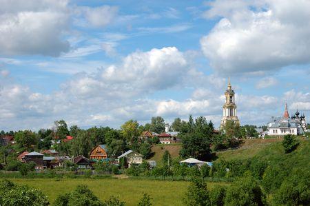 Rural landscape photo