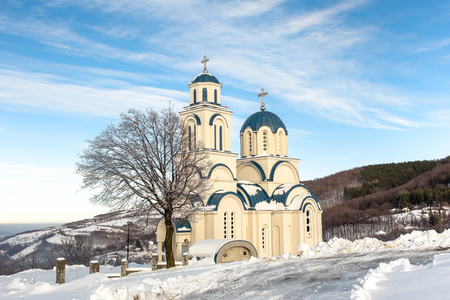 serbia: Orthodox church in Serbia