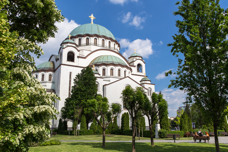 St. Sava Cathedral in Belgrade
