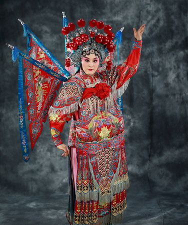 stage costume: Peking Opera