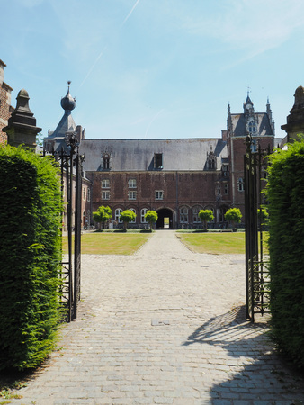The Arenberg castle located next to the city of Leuven and now the residence of the Catholic University of Leuven