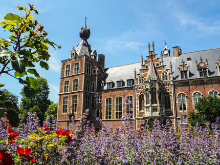 The Arenberg castle loacted next to the city of Leuven and now the residence of the Catholic University of Leuven Redactioneel