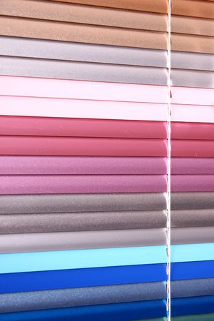 horizontal blinds as a background Banque d'images