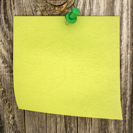 sticky paper: sticky paper on a wood background