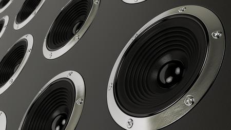 est�reo: sistema de altavoces est�reo de sonido Hi-Fi