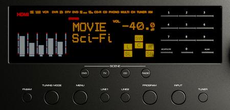 home cinema system multimedia 3d illustration Banque d'images