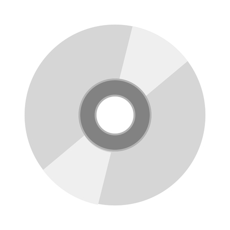 crt: CD vector illustration. CD isolated on white background. CD vector icon illustration. CD isolated vector. CD silhouette Illustration