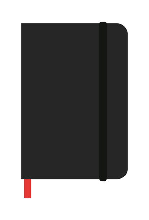 planners: Notebook organizer paper note page business vector. Planners notebook organizer diary paper page and business planners notebook. Planners notebook office pad school education. Illustration