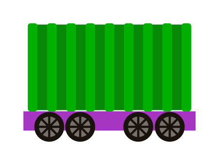 railroad transportation: Vector wagon train cargo wagon and wagon train tank. Cars wagon train and wagon train transport railroad. transportation railway locomotive part wagon train and retro vehicle wagon train.