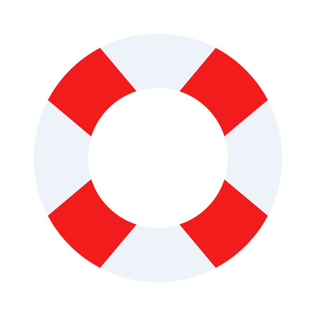 lifesaver: Lifebuoy vector symbol lifesaver swim. Isolated lifebuoy preserver object concept sign guard. Beach water ship graphic float lifebuoy. Stripped lifebuoy emergency help survival equipment protection.