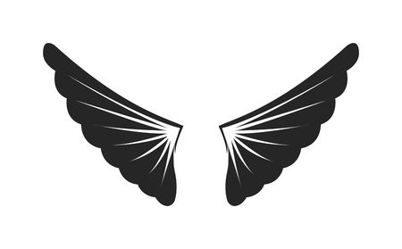 falcon wings: Wings siilhouette design. Elements wings siilhouette for design and element design angel black wings siilhouette. Graphic animal abstract wings siilhouette and tattoo fantasy wings siilhouette.