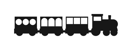 black history: Vector black silhouettes of trains. Trains silhouette locomotives with different wagons. Trains black silhouette locomotive transportation and trains silhouette carriage freight sign rail traffic.