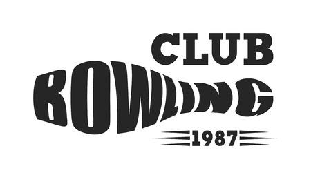 Vector bowling emblem logos, bowling logo emblems and bowling logo design elements. Bowling logo logotype templates and bowling logo badges. Bowling logo wings victory, bowling ball sport item. Illustration