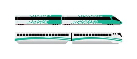 commute: Subway tunnel underground train light tracks with arriving underground train opposite direction. Concept modern metro underground transport and connection speed underground passenger train. Illustration