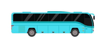 Stad openbare bus en transport voertuig stadsbus vector. Stadsbus vector reizen openbaar passagier en de stad bus vector verkeer tour voor commerciële trip. Stadsbus vector straat rijden gemeentelijke auto. Vector Illustratie