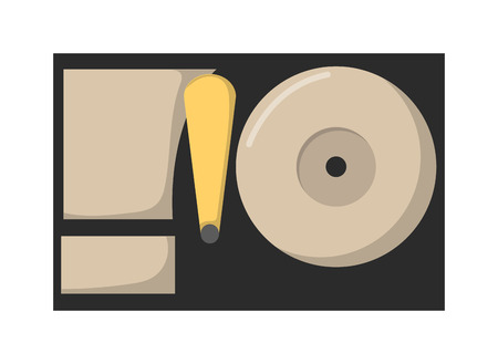 floppy drive: Computer HDD drive disk icon vector illustration. Isometric Floppy drive. Computer drive. Memory HDD drive disk computer HDD disk drive technology. Computer equipment device symbol isolated on white.