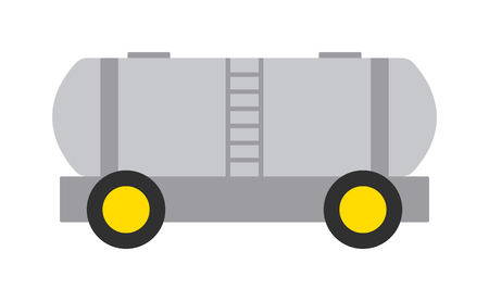 goods train: Vector collection of train cargo wagon, freight car tank. Freight car transportation train cargo and railroad freight car wagon industry. Container industrial goods vehicle freight car.