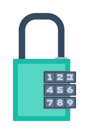 safeguard: Lock icon and security padlock protection lock. Safety password sign lock privacy element and access shape lock. Private lock set safeguard equipment vector collection. Illustration
