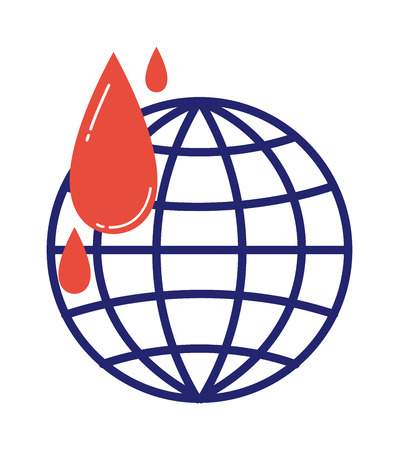 humanitarian: Donate icon vector globe donation vector isolated. Humanitarian volunteer icons awareness hand hope aid support and assistance care service human volunteer symbols. Globe earth icon
