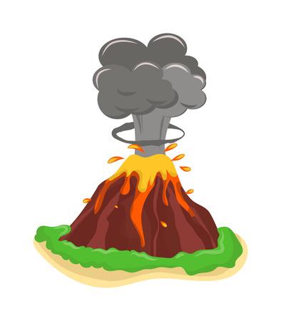 Erupcja wulkanu Stromboli spektakularne wybuchy. Erupcja wulkanu krater góra gorąca naturalne erupcji przyrody. Wulkan wybuchnie pożar popiołu wzgórze krajobraz odkryty geologia wybuch wybucha popiół.