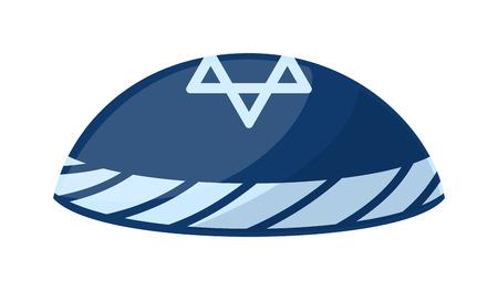 shabat: ilustración vectorial sombrero. Vectores