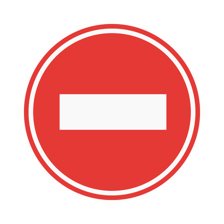 prohibiting: Prohibition stop sign vector illustration. Warning danger symbol prohibiting sign. Forbidden safety information prohibiting sign. Protection signs warning information sign. Illustration