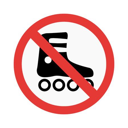 prohibiting: Prohibition walk sign vector illustration. Warning danger symbol prohibiting sign. Forbidden safety information prohibiting sign. Protection signs warning information sign.