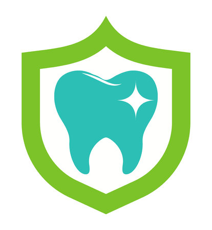 Dentist implants vector medical symbol badge. Clean dentist bright designs medical icon health care. Healthy hygiene dentist , oral blue implant dent business shape.
