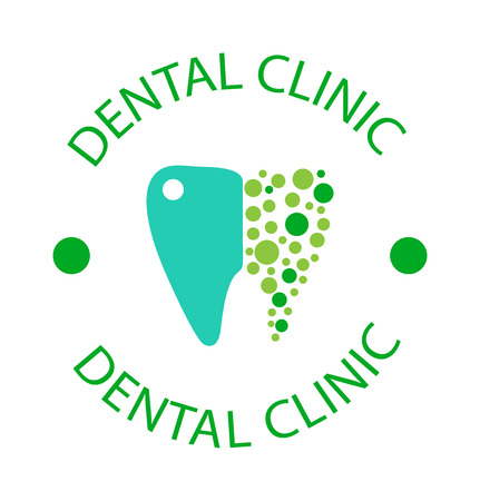 Dentist implants vector medical symbol badge. Clean dentist bright designs medical icon health care. Healthy hygiene dentist , oral blue implant dent business shape.