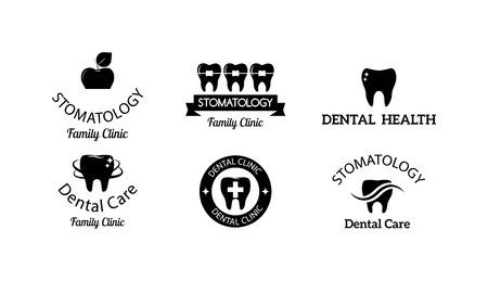 dent: Dentist implants vector medical symbol collection. Clean dentist bright designs medical icon health care. Healthy hygiene dentist , oral blue implant dent business shape.