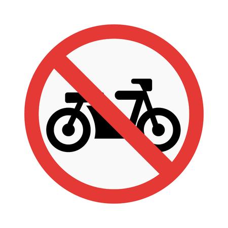prohibiting: Prohibition transport sign vector illustration. Warning danger symbol prohibiting sign. Forbidden safety information prohibiting sign. Protection signs warning information sign.