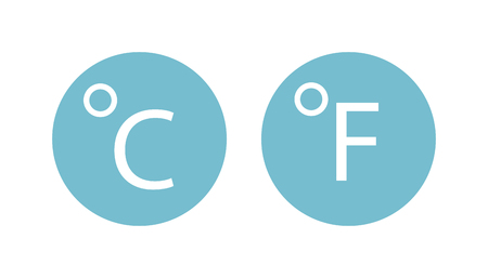 hot weather: Cold thermometer temperature icon vector illustration and thermometer symbol. Cold indicator temperature thermometer and degree instrument scale cold temperature thermometer cold or hot weather