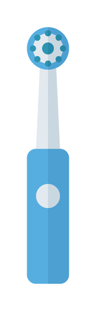 tooth brush: Electric tooth brush vector illustration. Tooth brush isolated on white background. Tooth brush vector icon illustration. Tooth brush isolated vector. Toothbrush silhouette