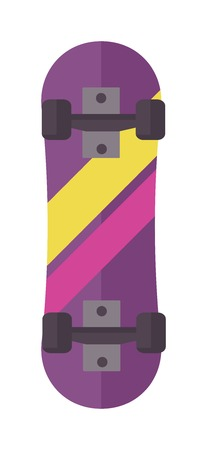 extreme sport: Skateboard icon extreme sport sign. Vector different board skateboard icons urban art silhouette. Street graphic deck skater skateboard icons active fun ride. Illustration